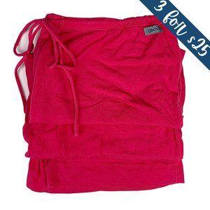 3/$25 DKNY Pink Cropped Wide Leg Gaucho Sweatpants